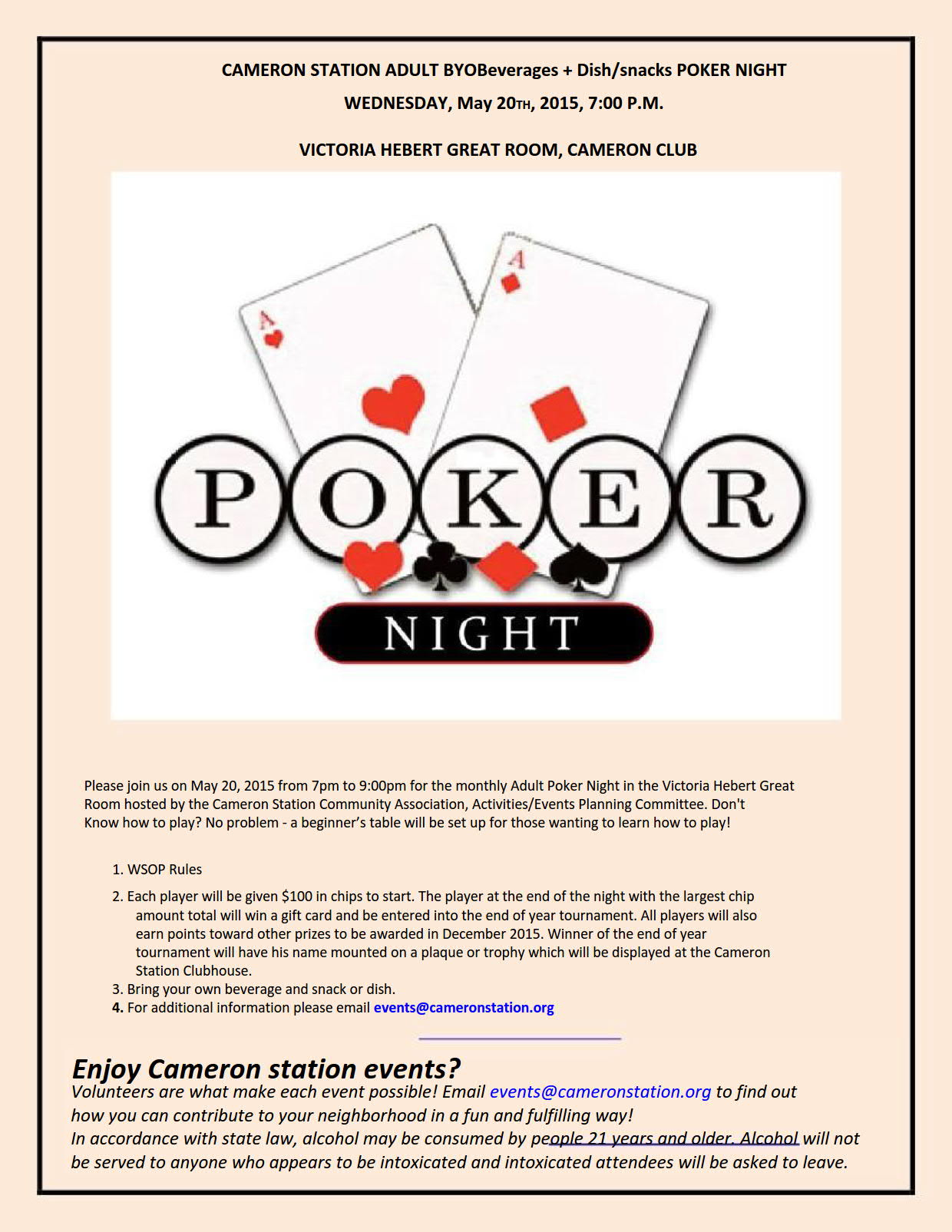 PokerNightFlyer May 2015 1