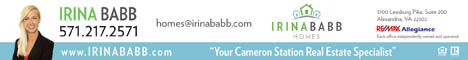 Irina Babb - Your Cameron Station Real Estate Specialist